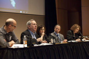 Investigative reporting experts share tips of the trade. Photo by Rich Press
