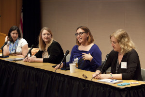 Panelists offer tips for breaking into new markets. Photo by Rich Press